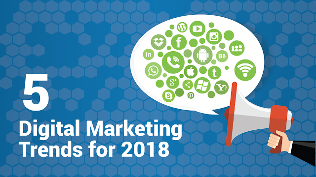 5 Digital Marketing Trends To Grow Your Business in 2018