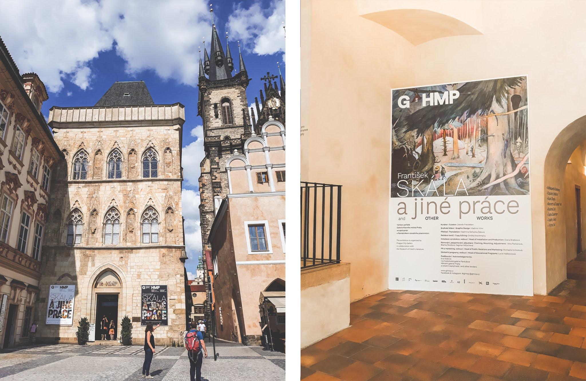 Galerie hlavního města Prahy, František Sklála