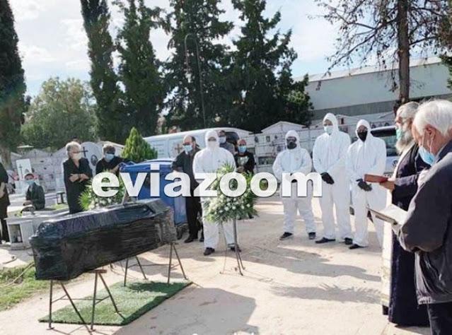 Με ειδικές στολές η κηδεία 80χρονου που πέθανε από κορωνοϊό