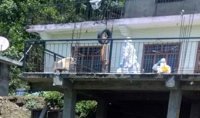 हिमाचल: बेटे को था कोरोना- पिता की चिता को आग देने PPE किट पहन पहुंचा शमशान