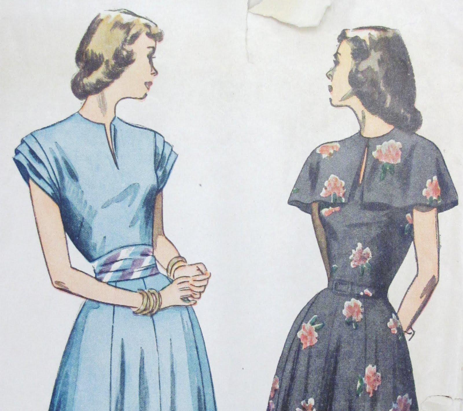 Pintucks 1950 S Vintage Fashion Little Cover Ups