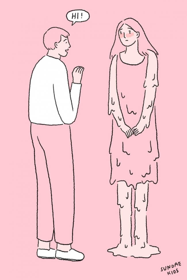 10 Romantic Illustrations For Those Who Are Desperately In Love