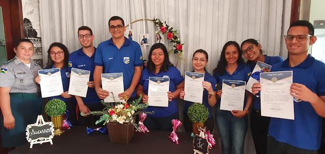 Prestadores de serviço voluntário são homenageados pelo 6º BPM