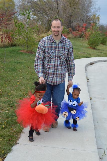 Homemade Sesame Street Costumes