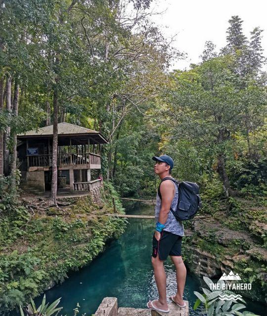 The Biyahero in Cancalanog Falls, Alegria, Cebu