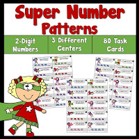 Super Number Patterns Using 2 Digit Numbers