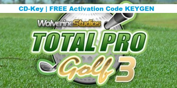 Total Pro Golf 3 free steam code