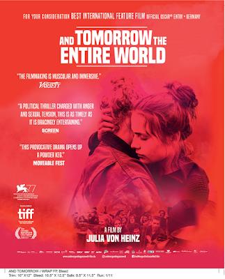 Entrevista com Julia von Heinz, Uma Das Realizadores Alemãs do Momento e Máxima Responsável por And Tomorrow the Entire World, o Candidato da Alemanha ao Óscar de Melhor Filme Estrangeiro