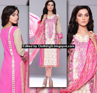 Autumn Latest Embroidered Collection 2015