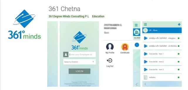 361 Degree Chetna App Download and Circular