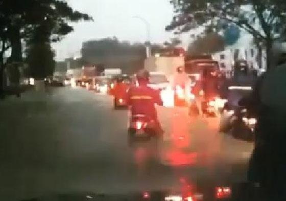 Video Viral! Kawasan Meikarta Kebanjiran Bikin Heboh