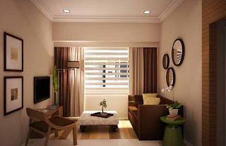 warna hiasan: tips dekorasi bagi rumah flat atau apartment