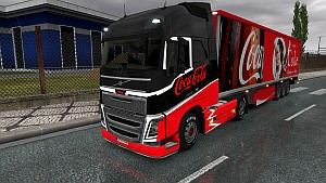 Coca-Cola pack updated for Volvo 2012 (1.21)
