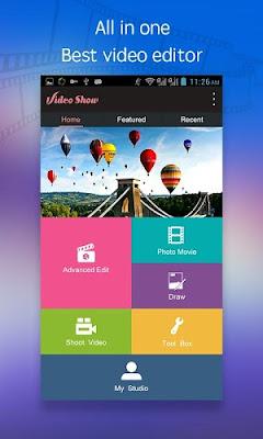 تحميل التطبيق الرائع للتعديل علي الفيديو باحترافية تطبيق VideoShow Pro - Video Editor