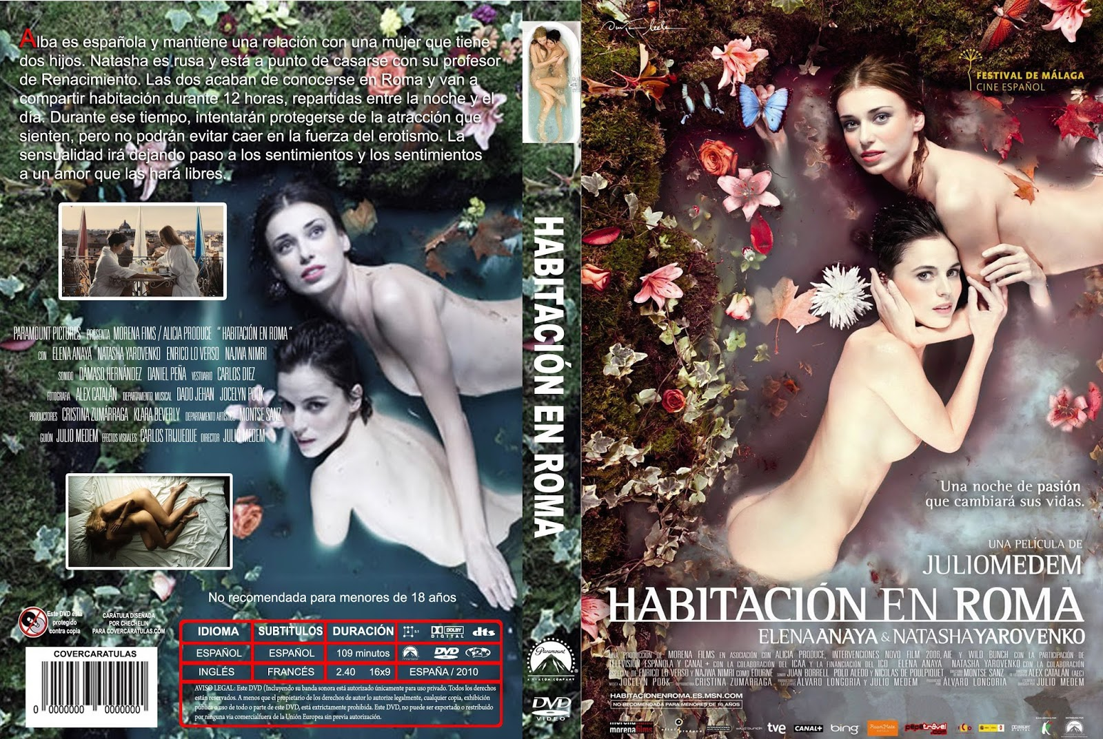 DVD  PS2  SERIES  PROGRAMAS Habitacin En Roma Drama