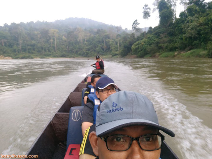 Pertama Kali Jejak Lubuk Kelah di Sungai Keniam