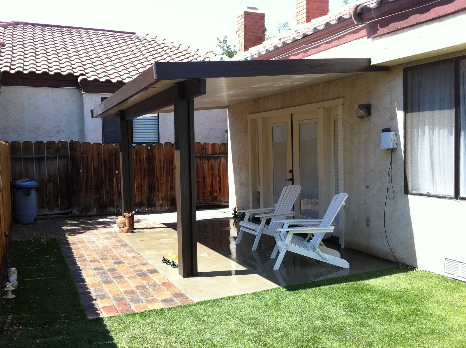 Lapham Construction: Patio Cover in Ridgecrest, California on Backyard Patios On A Budget id=20886