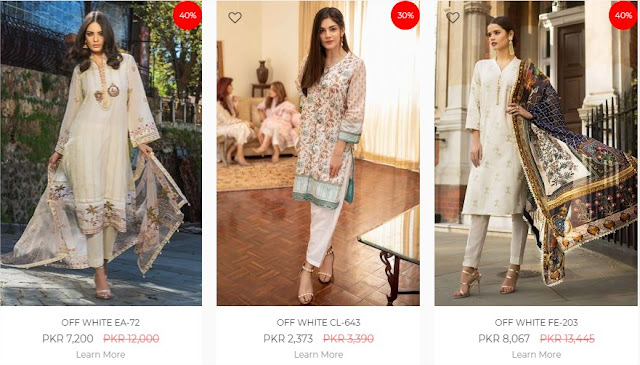 Ideas By Gul-Ahmed women Online sale 2020 up-to 50% off
