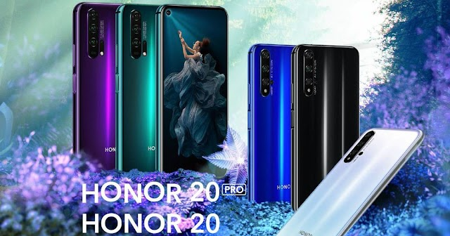 the phone Honor 20 and Honor 20 Pro with a 32-megapixel Selfie camera, price, specifications and more