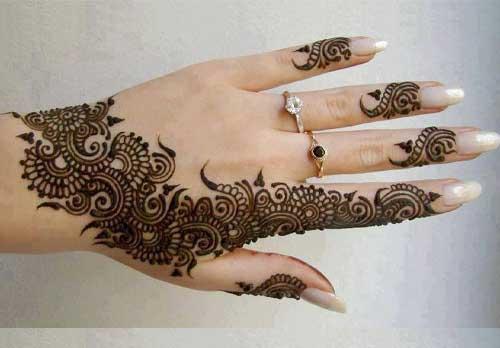 Design of Mehandi
