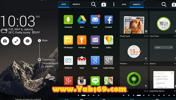 Download Custom ROM Zenfone 4 Untuk Andromax G AD687G Review