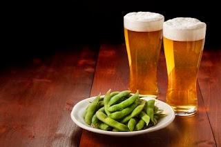 枝豆は、ビールのおとも
