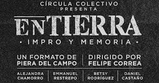 """EN TIERRA """"Impro y memoria""""   TEATRO CHARLOT"""
