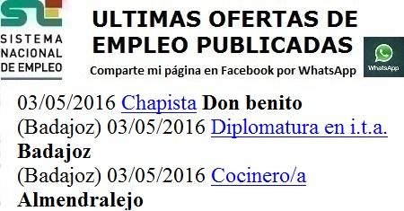 Lanzadera de Empleo Virtual Badajoz, Don Berito, Almendralejo