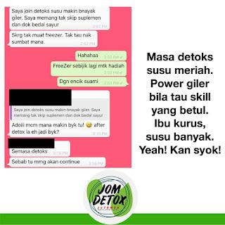 Testimoni Program Jom Detox Jutawan