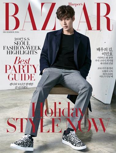 Harper Bazaar 2 Lee Min Ho