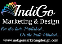 IndiGo Marketing & Design. For the indie-published or the indie-minded.