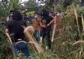 Polisi ungkap Kasus Pembunuhan Kejam, di Km 43 Desa Bukit Baling kecamatan Sekernan