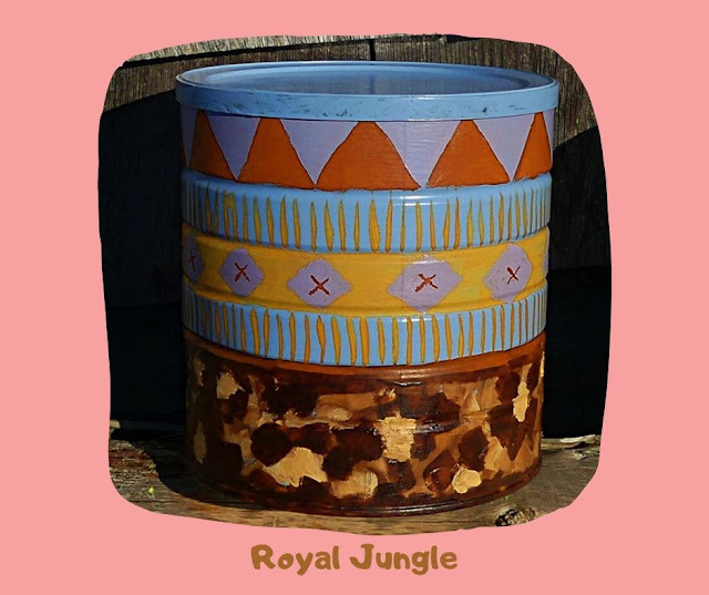 Royal Jungle Pot by Minaz Jantz