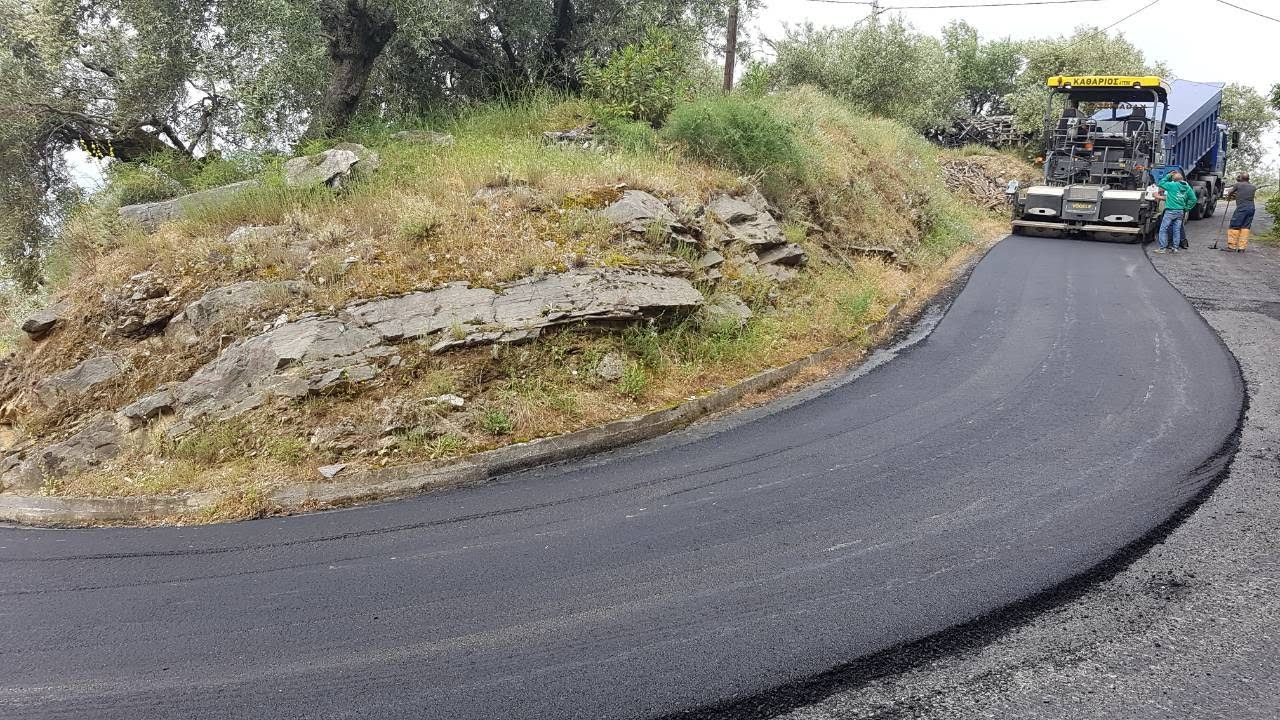 Το δρόμο Μελιβοία - Παλιουριά αποκαθιστά η Περιφέρεια Θεσσαλίας
