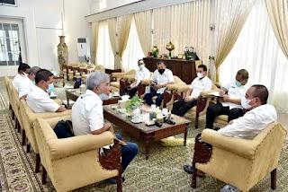 Gubernur Edy Rahmayadi Minta KONI Sumut Fokus dan Terus Perkuat Pembinaan Altet