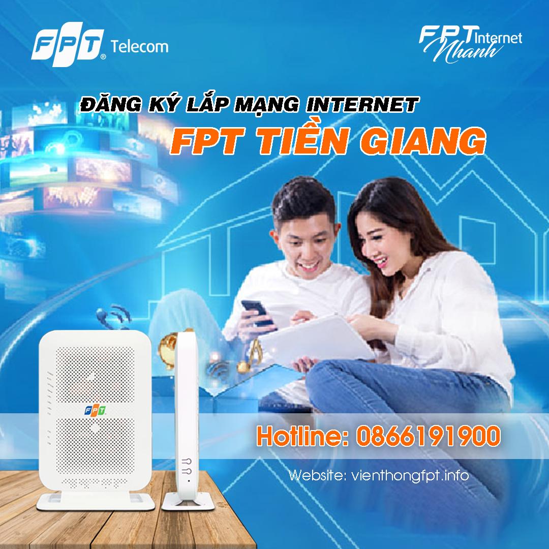 Đăng ký Internet FPT Tiền Giang