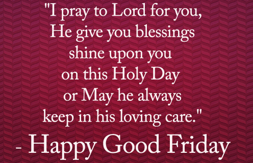 Good Friday Wishes Quotes 2018 for Facebook & WhatsApp ...
