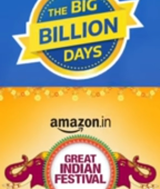 Online Shopping on Flipkart and Amazon Sale 2020