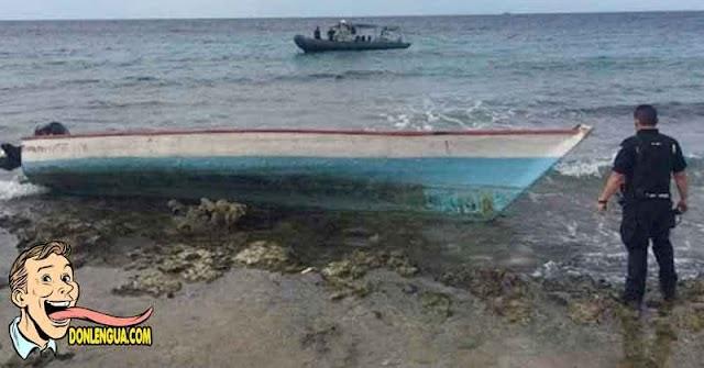 6 Balseros venezolanos detenidos al llegar a las costas de Trinidad y Tobago