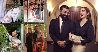 Designer Ali Zeeshan with his Wife Myra | Beautiful Pictures