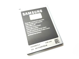 Baterai Ponsel Samsung Galaxy Note 2 N7100 EB5956675LU Original 100%