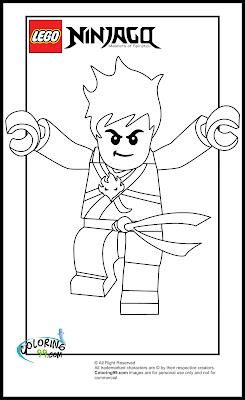 Lego Ninjago Zane Coloring Pages - Colorings.net