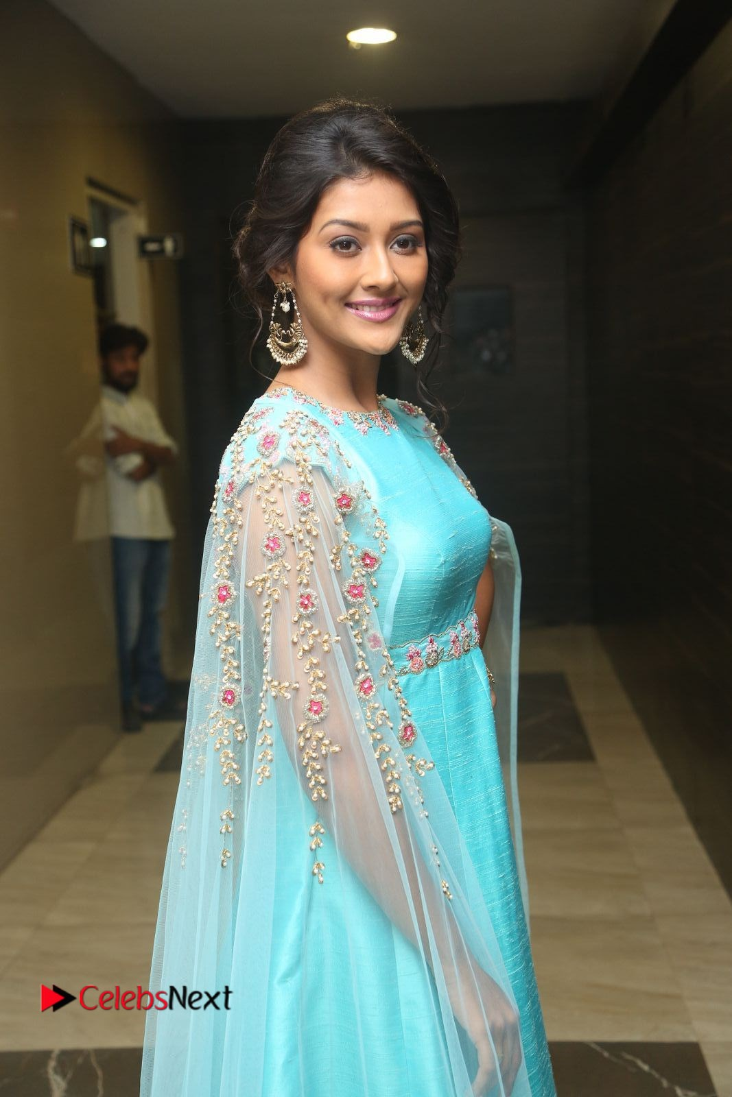 Actress Pooja Jhaveri Stills at Dwaraka Audio Launch .COM 0086.JPG