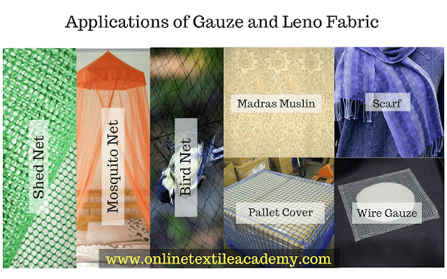 Applications of Gauze and Leno Fabric
