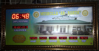 Jam Sholat Masjid Murah