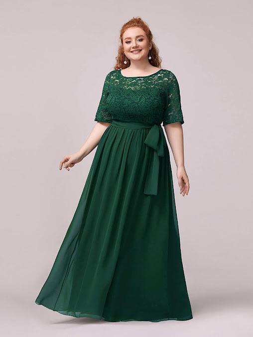 Plus Size Chiffon Bridesmaid Dresses