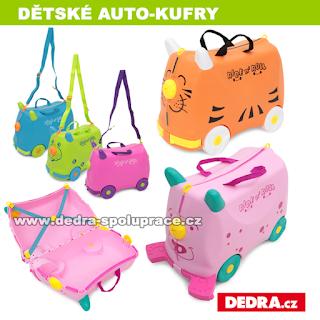 dětské auto kufry