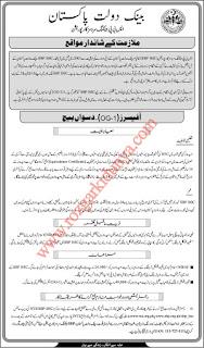State Bank Of Pakisatn SBP Jobs 2019 Lates | Online Apply