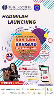 Hadirilah Launching Kawasan Kuliner Non Tunai Bangayo - Tarakan Info