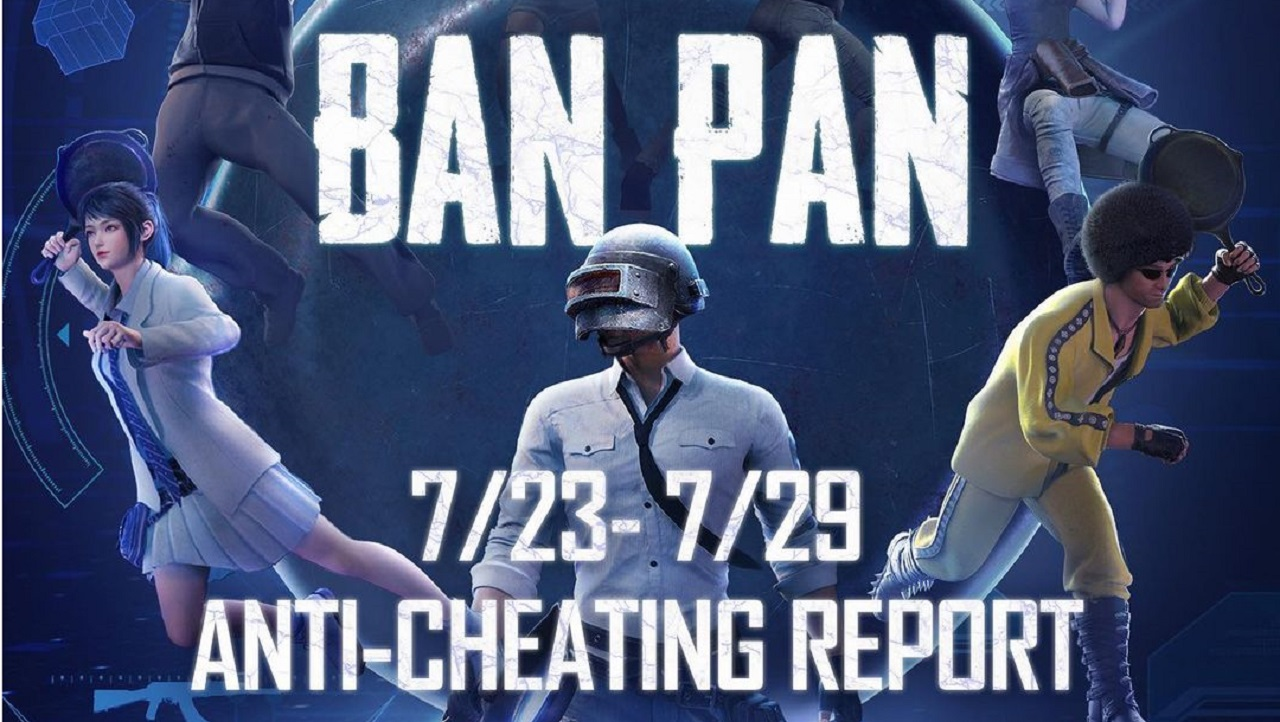 PUBG Mobile Anti-Cheating Report from 23rd July to 29th July, 2021 Out Now